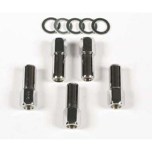 Open Ended 1/2 inch Lug Nuts For Compeition | 1-3/8 inch Shank-0