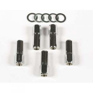 Open Ended 7/16 inch Lug Nuts For Competition | 1 inch Shank-0