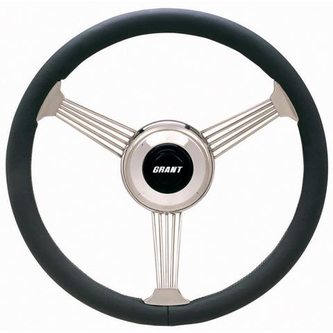 Steering Wheel | Banjo Style with Gray Rim-0