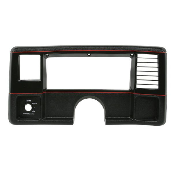 Dash Face Plate 1986-88 Monte Carlo 1986-87 El Camino Black with Red stripe-0