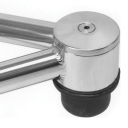 Option For Superide/Open Wheel Superide Polished Stainless Steel Ball Joint Caps-0