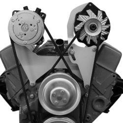 Alternator Bracket SBC Short Water Pump Left Hand Top Mount-0