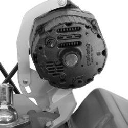 Alternator Bracket SBC Short Water Pump Right Hand Top Mount -0