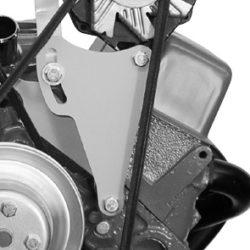 Alternator Bracket SBC Long Water Pump Left Hand Top Mount-0