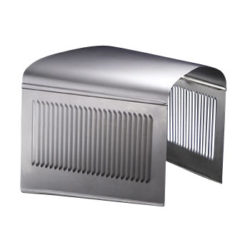 Three Piece Plain Top Hood with 25 Louver Sides   1932-0