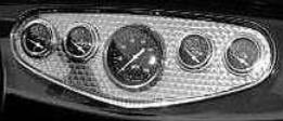 Panel 1932 Ford 5 Gauge Polished-0