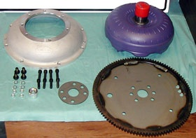 Flathead to C4 Transmission Adapter Kit-0