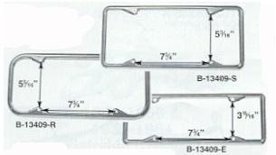 License Plate Frames Front & Rear-0