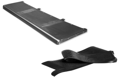 Running Board with Rubber Covers | 1932-0