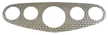 "Gauge Panel Face Plate 3-3/8"" Center Hole-0"