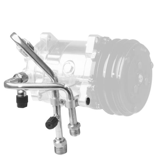 SANDEN SD-508 Polished Compressor O-Ring 134A