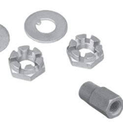 Spindle Stop Nuts   Chrome-0