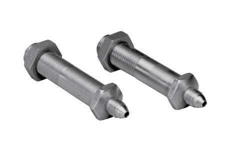 Thru Frame Fittings Stainless Steel 2.5-0