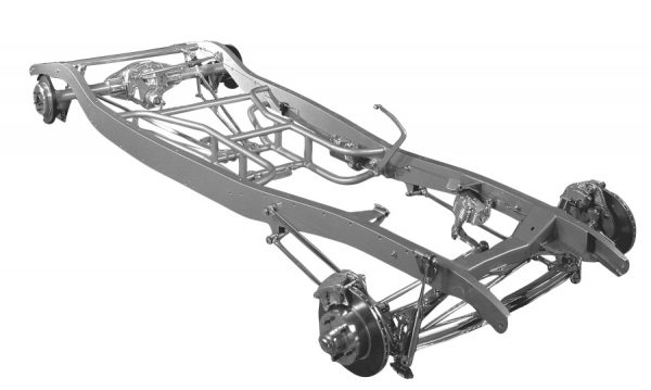 1933-34 Complete Chassis -0