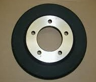 Brake Drum 1940-48 with 3.25 CTR Hole-0