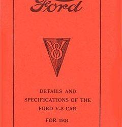 Restorer's Guide 1934-0