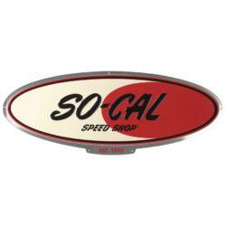 Tin Sign | SO-CAL logo-0