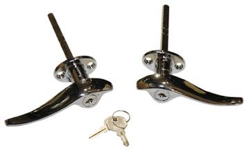 Locking Door HandleS Installed-0