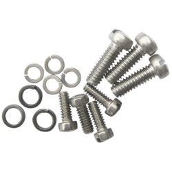 Body Screw Kit | 8 Screws/Washers | Stainless Steel-0