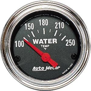 Water Temp 2-1/16 | Chrome-0
