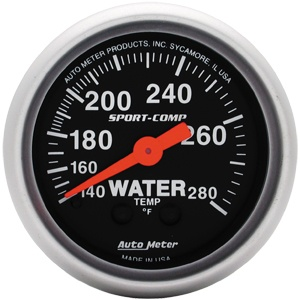 Gauge Water Temp 2 1/16-0