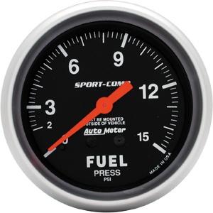 Gauge Fuel PSI 2-5/8-0