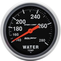 Gauge Water Temp 2-5/8-0
