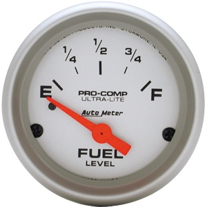 Gauge Fuel Level 2 1/16-0