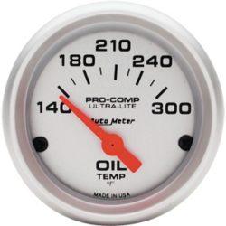Gauge Oil Temp 2/16 Silver-0