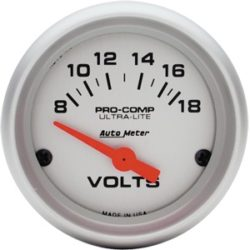 Gauge Voltmeter 2 1/16-0