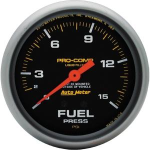 Gauge Fuel PSI 15 2 5/8-0