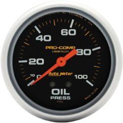 Gauge Oil PSI 100 2 5/8-0