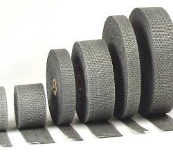 Exhaust Wrap Black 2X50'-0