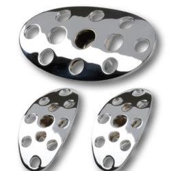 Lokar Lakester Series Brake/Clutch Pedal | Chrome-0