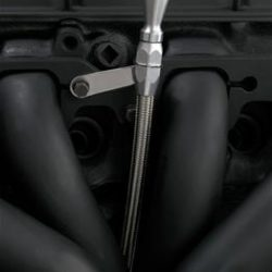 Flexible Dipstick For Small Block Chevy 1980 and Newer-0