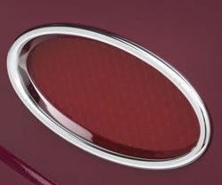 Lokar Billet Aluminum Oval LED Taillights | Chrome-0