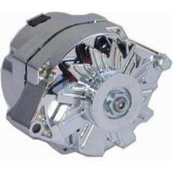 100 AMP GM One Wire Alternator | Chrome-0