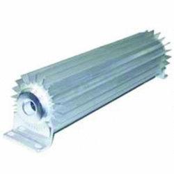 "Satin Aluminum ""Single Pass"" Transmission Cooler   15 inch-0"
