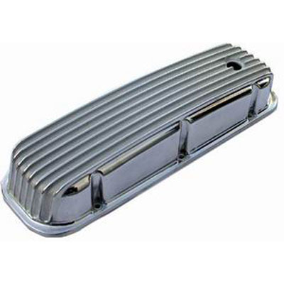 Big Block Chevy Finned Aluminum Valve Covers--Tall-0