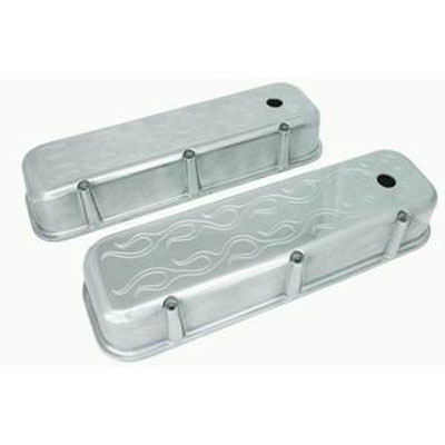 Big Block Chevrolet Tall Flame Valve Covers-0