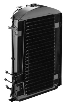 Flathead Radiator with Transmission Cooler-0