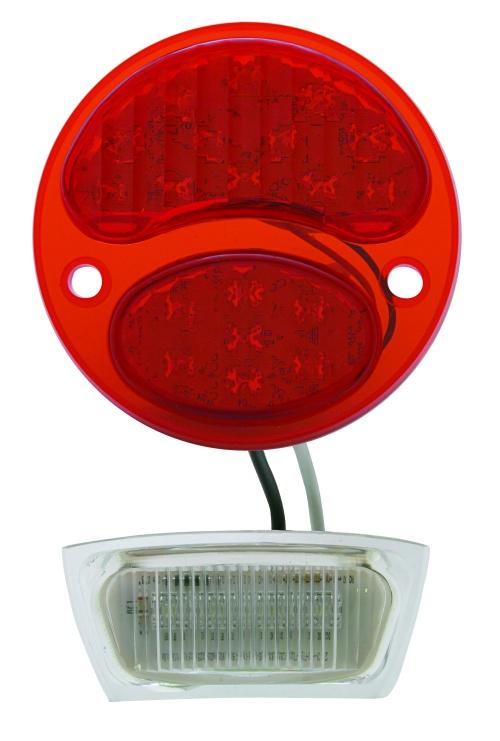 Ford Tail Light   6V LED   Driver Side 1928-31-0