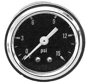 Fuel Pressure Gauge | 0-15 Psi-0