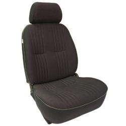 Low Back Bucket Seat | BlackVelour | Driver Side-0