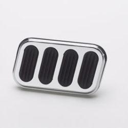 Brake Pedal Pad | Chrome-0
