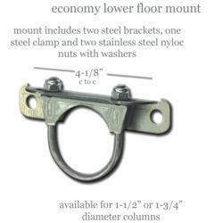 "Economy Lower Steering Column Mount   1-1/2""-0"