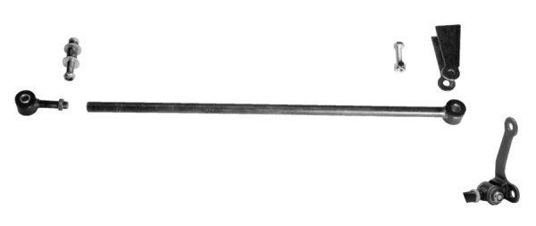 Panhard Bar | Hairpin Style | Chrome-0