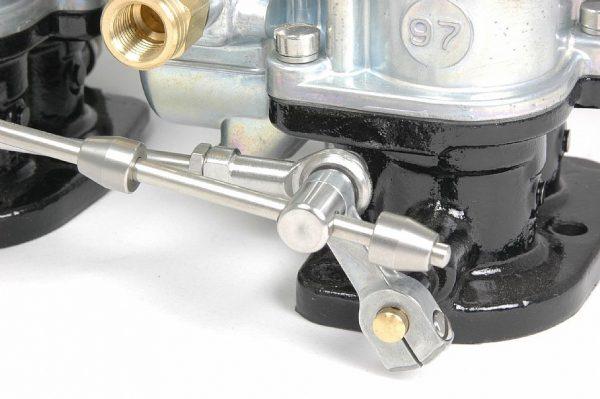 Premium 3 Carburetor Linkage | 4 9/16 Spacing -0
