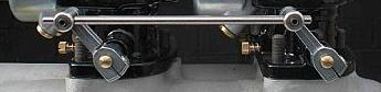 Standard 2 Carburetor Linkage | 4 3/4 Spacing-0