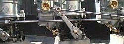 Premium 3 Carburetor Linkage   5 1/2 Spacing-0